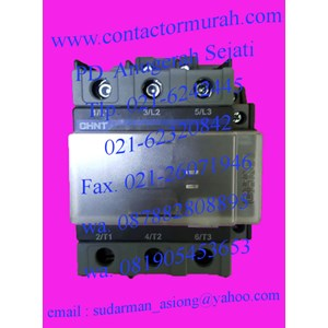 From chint AC contactor NXC-100 0