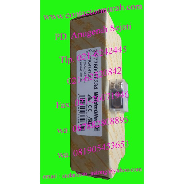 weidmuller tipe DR1424730L relay 5A