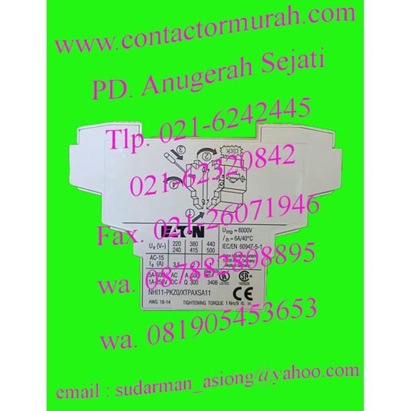 eaton auxiliary kontak tipe NHI11-PKZ0