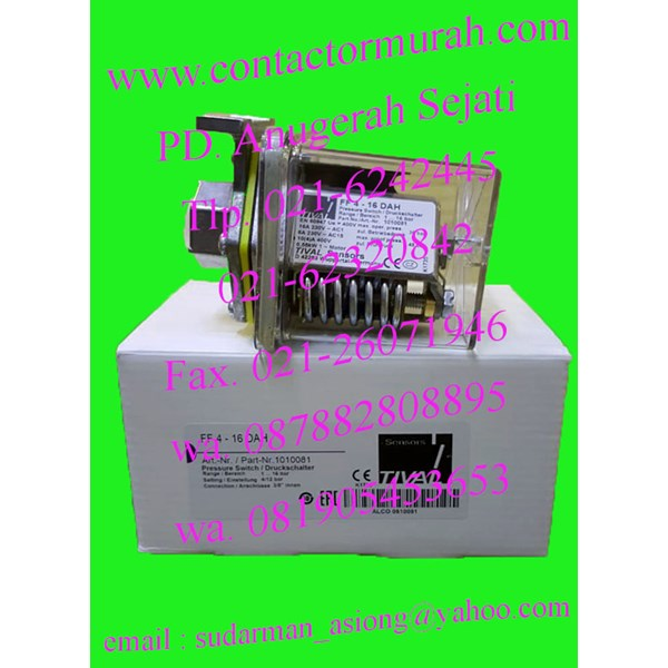 tival pressure switch 16A 230V