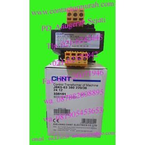 Dari kontrol transformer Chint tipe JBK5-63 220V 3