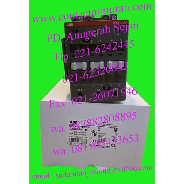 kontaktor AX80 abb 125A