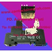 Jual Relay Dan Socket Idec Tipe Sj25-07L 2