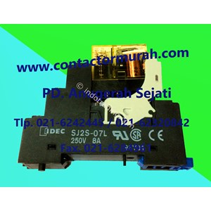Idec Tipe Sj25-07L 8A Relay Dan Socket