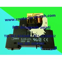 Socket Dan Relay Tipe Sj25-07L 8A Idec 1