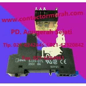 Idec Relay Dan Socket Tipe Sj25-07L 8A