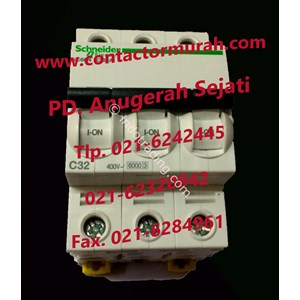 Schneider Tipe Ic60n 32A Mcb