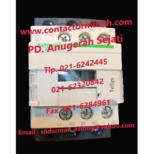 Schneider Tipe Lc1d09bd Contactor 25A 24Vdc