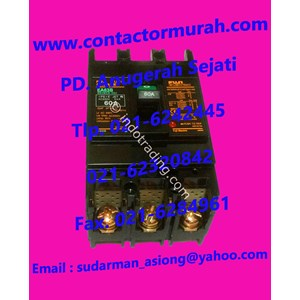 Tipe Ea63b Mccb 60A Fuji