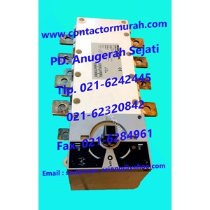 tipe 1-0-11 changeover switch socomec 250A