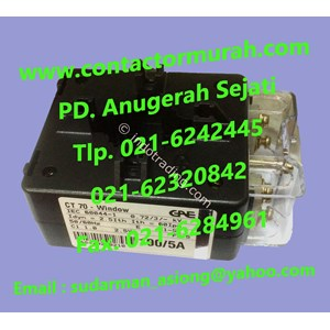 GAE current transformer tipe CT70 100-5A