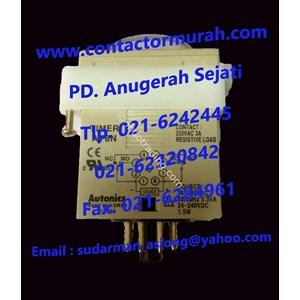 Autonics 240VAC timer tipe AT8N