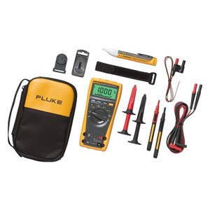 Fluke 179 1Ac-Ii Electrician's Multimeter And Voltage Tester Combo Kit