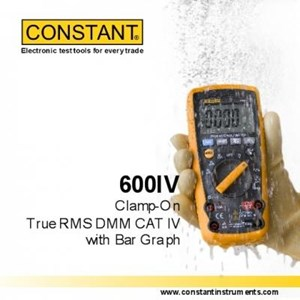 Constant 600Iv True Rms Digital Multimeter