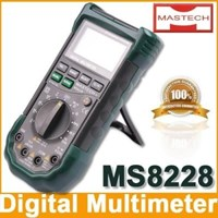 Mastech Ms8228 Autoranging Digital Multimeter With Infrared Thermometer 1
