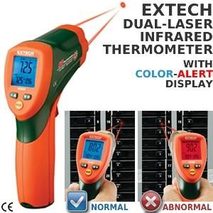 Extech 42509 Infrared Thermometer With Colour Alert