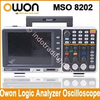 Owon Mso8202 200Mhz Oscilloscope W Logic Analyzer 1