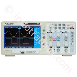Protek 3110 100Mhz 1Gas S Sampling Rate Digital Storage Oscilloscope