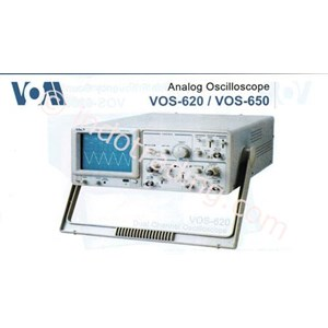 Vom Vos-650 Dual Channel Analog Oscilloscope
