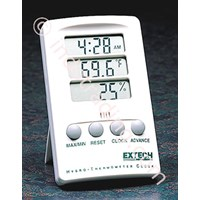 Extech 445702 Hygro-Thermometer With Clock 1