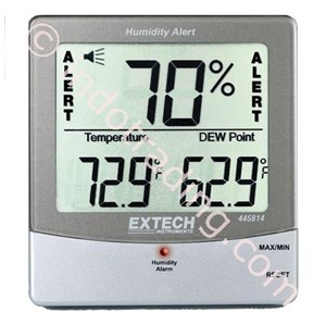 Extech 445814 Hygro-Thermometer Humidity Alert With Dew Point
