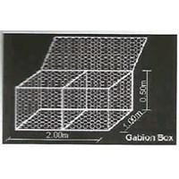 BRONJONG 2x1x X10cm 8 HOLE size 0.5 m