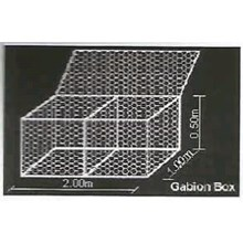 BRONJONG LUBANG 8 X10cm ukuran 2x1x0.5m