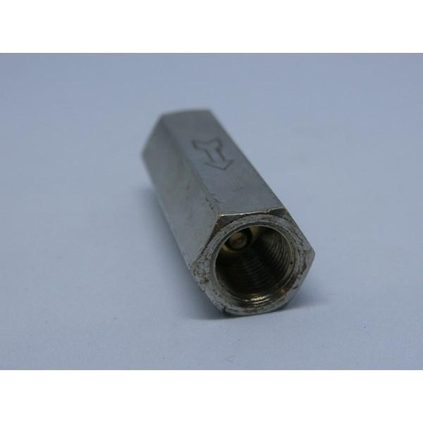 "Check valve pneumatic - one way valve no return - drat dalam 1/8"""