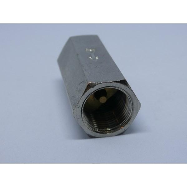"Check valve pneumatic - one way valve no return - drat dalam 3/8"""