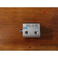 Air Cylinder - Compact Cylinder - SDA 12-10 - SKC
