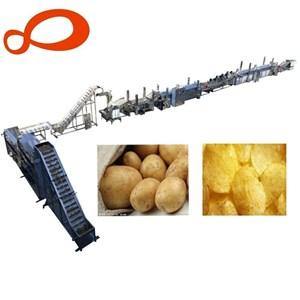 Dari  mesin pembuat chips kentang otomatis  1