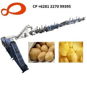 Lini Produksi Chips Kentang