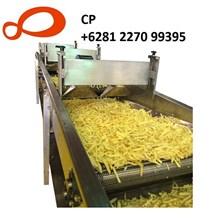 mesin pembuat chips kentang otomatis