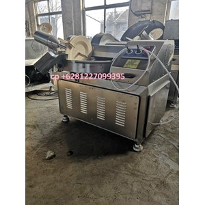 From bowl cutter mixing machine for meatball 0
