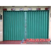 Pintu Besi Folding Gate