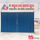 Folding Gate Standar Biru Mulia Jaya Mitra Baja 1