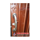 Folding Gate Standar Merah Bata PT Mulia Jaya Mitra Jaya 1