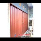 Folding Gate Standar Merah Bata PT Mulia Jaya Mitra Jaya 3