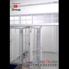 Pintu Lipat Aluminium 1