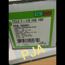 Expansion Valve TCLE 7-1/2 HW 100