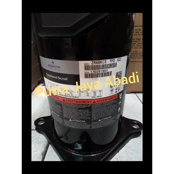 Kompresor AC Copeland ZR68KCE-TFD-522