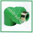 Pipa Fitting Atp Toro 25 Threaded Male Elbow Pn-25 2