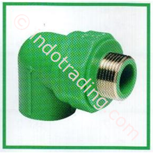 Pipe Fitting Atp Toro 25 Trheaded Male Elbow Pn-25
