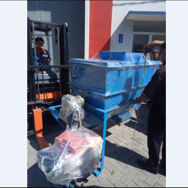 Horizontal Mixer Pakan MX300 Kapasitas 300 kg