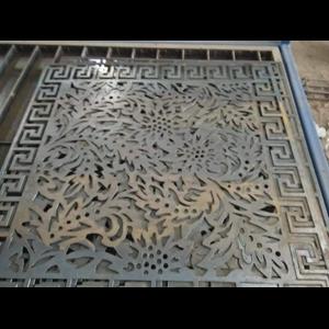 Jasa Mesin Pemotong CNC Plasma Cutting Plat Ornamen Surabaya Mojokerto