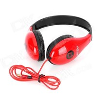 Beli Ditmo DM 4700 Stereo Headset Headphones Red Black 4