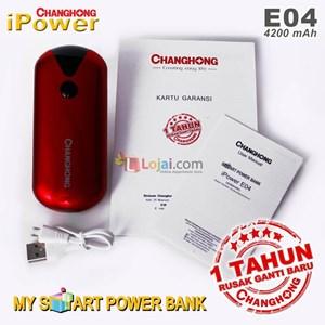 Power bank Changhong E04 4200Mah garansi resmi 1 tahun ganti baru