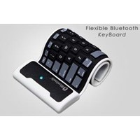 Beli KBBT-002 Bluetooth Flexible Keyboard Mini Foldable 4