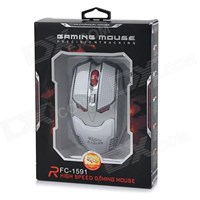Beli MOU-RH1591 R-Horse Gaming Mouse FC-1591 Model Terminator 4