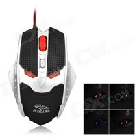 MOU-RH1591 R-Horse Gaming Mouse FC-1591 Model Terminator Murah 5